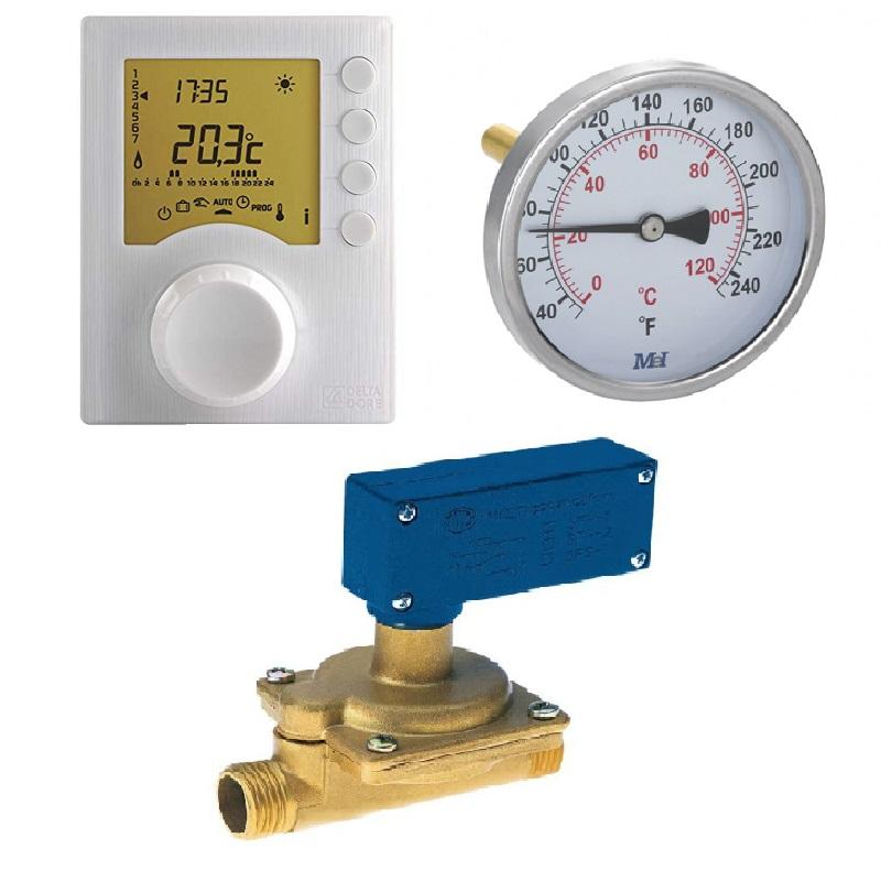 Termostatos flusostatos y termómetros