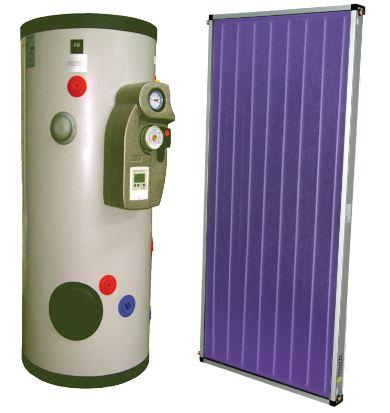 Equipos solares forzados y drain back
