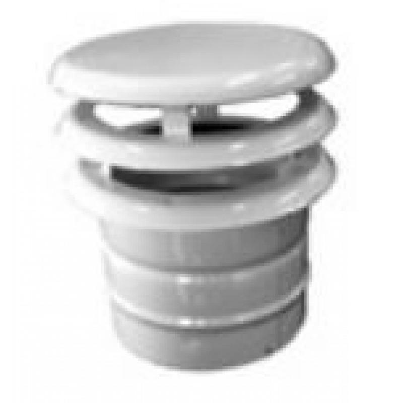 Chimenea aluminio esmaltada