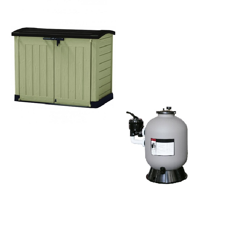 Filtración y casetas